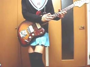 Nagato Yuki - Playing Yui's Song