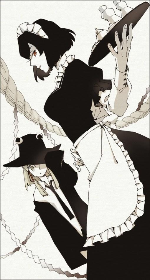 Yasaka Kanako, Moriya Suwako (asasui)