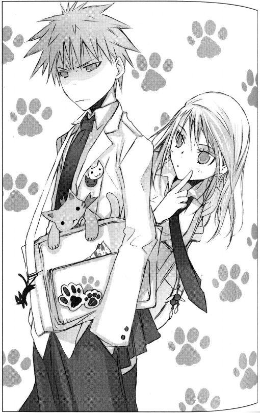 Akagi Koremitsu and Shikibu Honoka (Takeoka Miho)