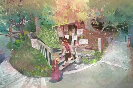 Usami Renko and Maribel Hearn (tokoroten (hmmuk))