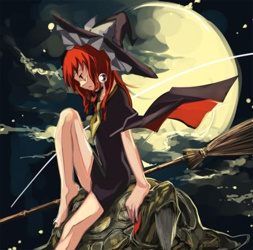 Kirisame Marisa (PC-98) and Genji (simadoriru)