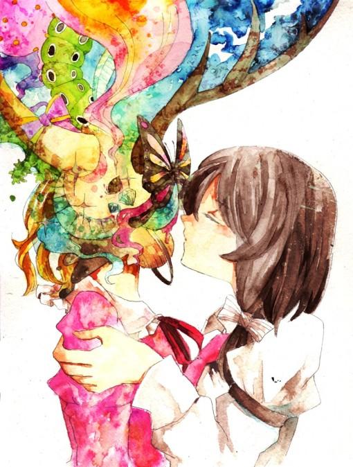 Usami Renko and Maribel Hearn / Yakumo Yukari (sooru0720)